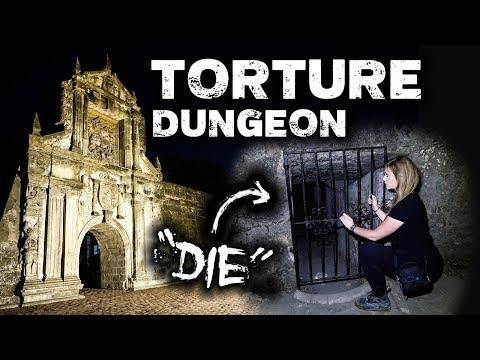 TORTURE DUNGEON Scary Spirit Responses   Fort Santiago Manila, Philippines