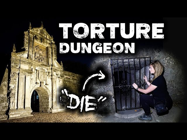 TORTURE DUNGEON Scary Spirit Responses | Fort Santiago Manila, Philippines