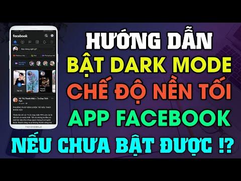 Cách Bật Chế Độ Nền Tối Dark Mode Trên Facebook Cho Android Thành Công 100%