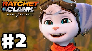 Ratchet & Clank: Rift Apart - Gameplay Walkthrough Part 2 - Rivet and Clank on Sargasso! (PS5)