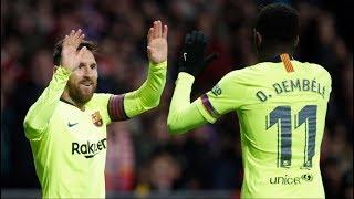PSV vs Barcelona [1-2], Champions League, 2018 - Messi & Dembele Shine Together