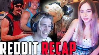 xQc Reacts to Viewer Memes & Top Funny Clips from LivestreamFails | Reddit Recap #43