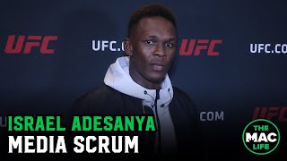 "Israel Adesanya doesn't buy Deontay Wilder's costume excuse: ""Gypsy King was just the better boxer"""