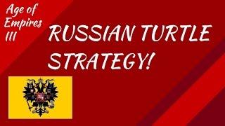 Russian Turtle Strategy! AoE III