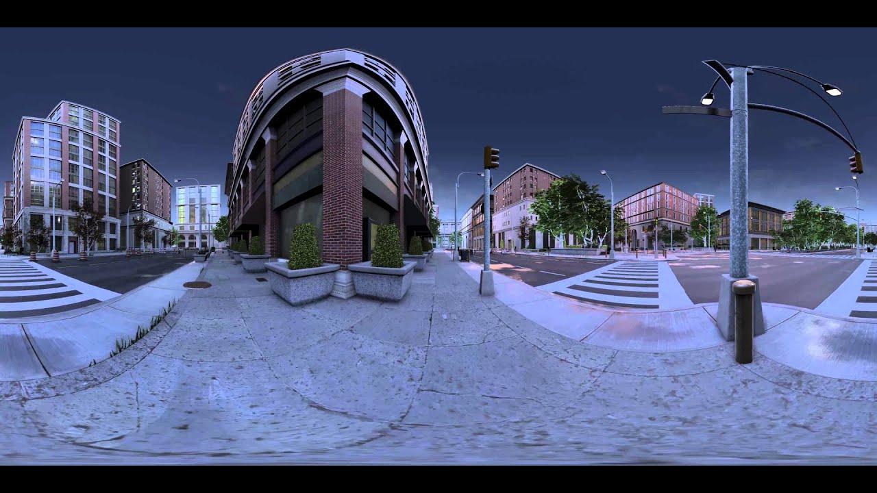Unreal Engine 4 - 360 Panoramic Test