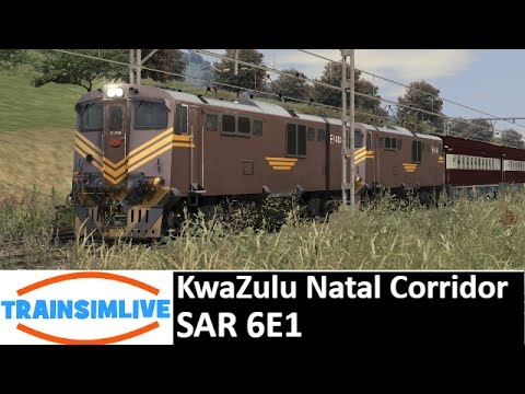 Let's Play Train Simulator - KwaZulu Natal Corridor, SAR 6E1