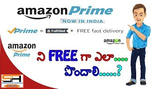 Video How to get amazon prime membership for free || Amazon prime for freee || sa telugu tech zone download MP3, 3GP, MP4, WEBM, AVI, FLV Mei 2018