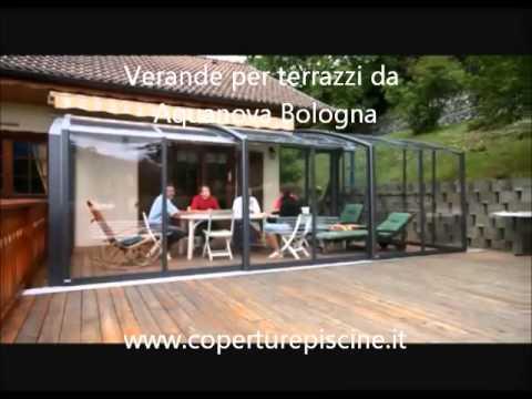 Apertura di veranda per terrazzo a Brescia - YouTube