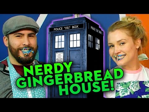 Nerdy Gingerbread Challenge - Doctor Who TARDIS!