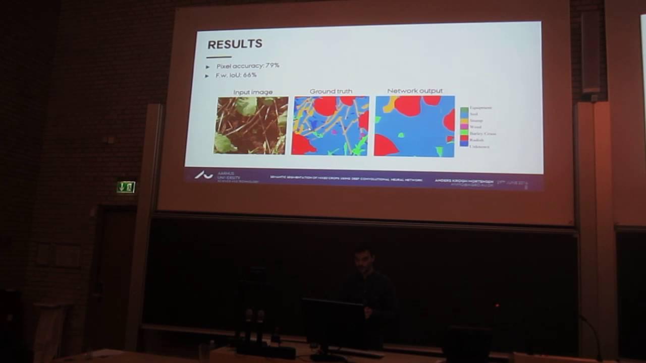CIGR2016 Talk - Semantic Segmentation of Mixed Crops using Deep Convolutional Neural Network