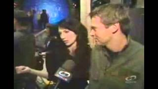 Claudia Black & Michael Shanks on SG-1 200th 2006 featurette HypaSpace