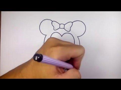 มินนี่ เมาส์ ดิสนีย์ ซูมซูม Tsum Tsum วาดการ์ตูนกันเถอะ สอนวาดรูป การ์ตูน