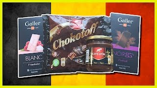 Belgium Chocolate - Côte D'Or, Galler & Chokotoff thanks to Abed