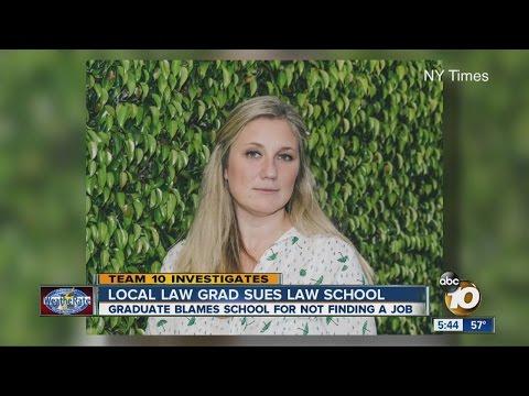 Local law grad sues law school