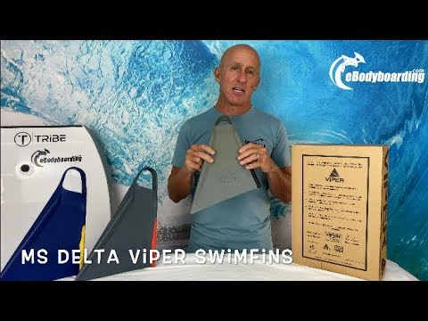 Mike Stewart MS Viper Delta Swimfins Review