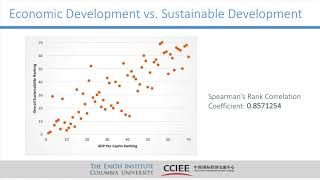 1/30/18 - Earth Institute: Sustainability Measurement in China - Fostering a Race to the Top