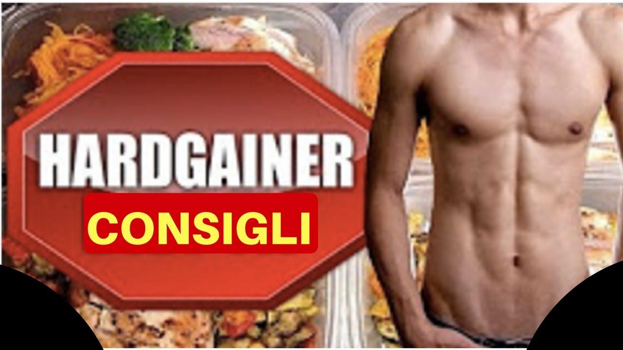 dieta per aumentare la massa muscolare per ectomorfi