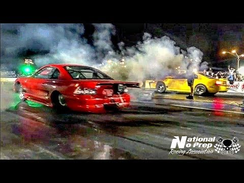 Mustang Mike fnkin sends it vs BoostedGT at the Memphis Street Outlaws No Prep