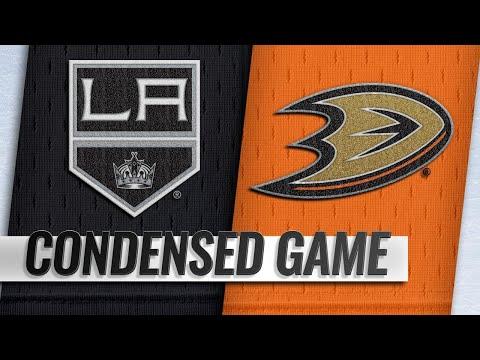 09/26/18 Condensed Game: Kings @ Ducks