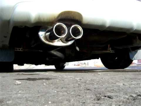 Sound Of Xforce Varex Muffler On Subaru Forester Youtube