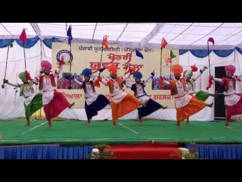 KHALSA COLLEGE PATIALA WINNERS OF PUNJABI UNIVERSITY zonal youth festival 2013CKJC