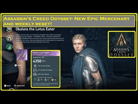 Assassin's Creed® Odyssey- Epic Merc & Weekly Reset thumbnail