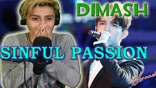 (ENGLISH SUB)Metalero Reacciona DIMASH KUDAIBERGEN - Sinful Passion Reaction&Review RockOh!