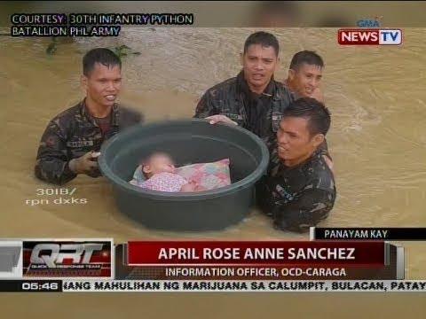 QRT: Panayam kay April Rose Anne Sanchez, Information Officer, OCD-CARAGA