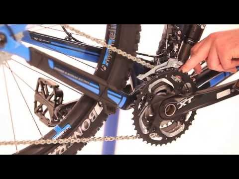 How to set up your MTB gears - front mech