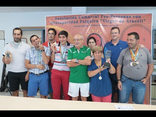 VÍDEO: Un ejemplo de superación personal: Los atletas del Club Deportivo AMARA superan la veintena de medallas en campeonatos andaluces y nacionales