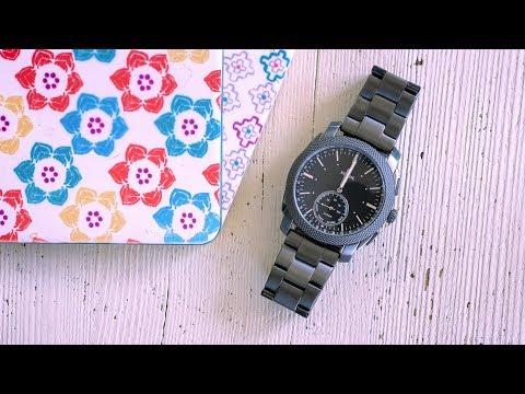 Test: Fossil Q Machine - gelungene Hybrid-Smartwatch | deutsch