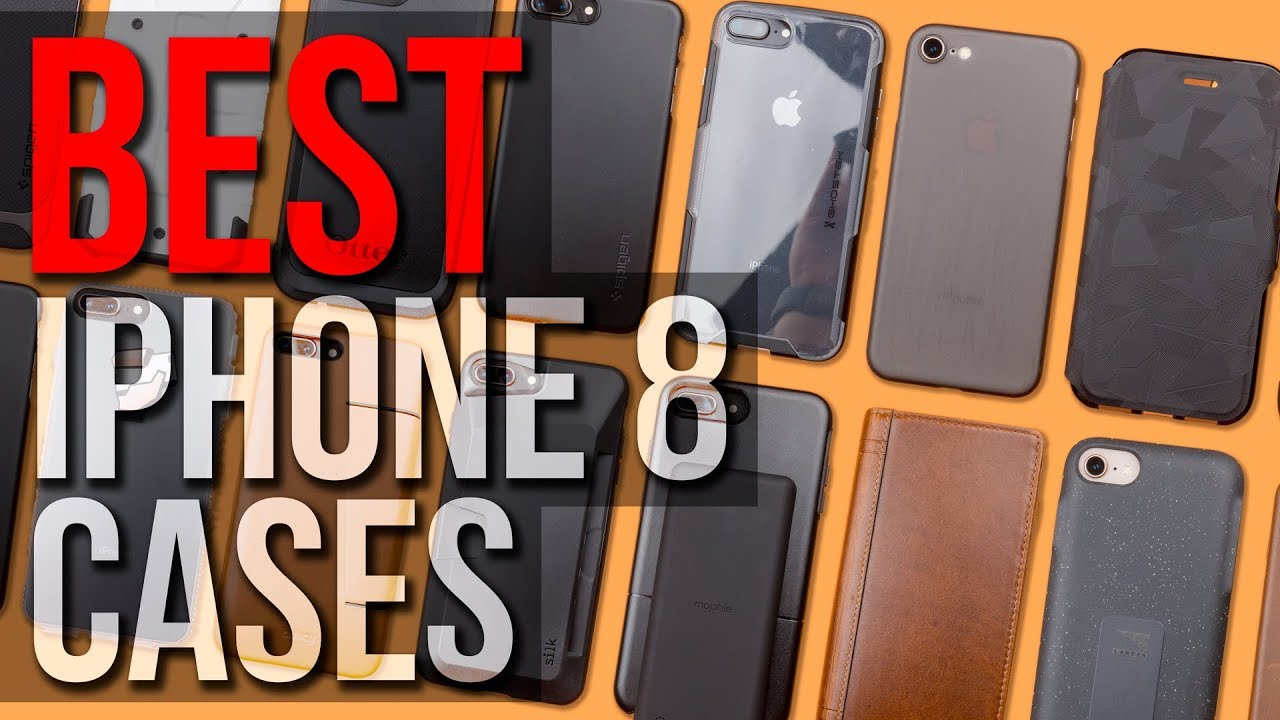 best service 8aaf6 f9b7e Best iPhone 8/7 Cases - 2018