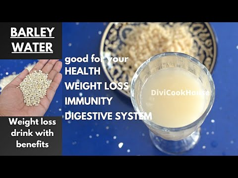 BARLEY WATER for weight loss, immunity, beauty, sugar control, removes toxins recipe
