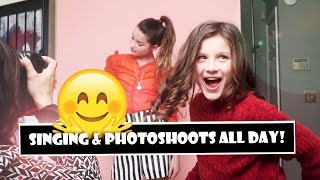 Singing Photoshoots All Day  WK 373 Bratayley
