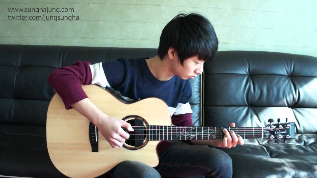 Sungha's play - (Nirvana) Come As You Are