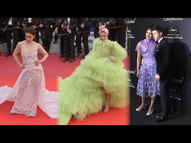Deepika, Priyanka & Kangana steal the show at Cannes 2019
