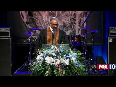 The funeral service for Chuck Berry