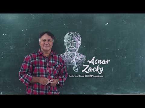 Profil Dosen DKV ISI Jogja: Asnar Zacky
