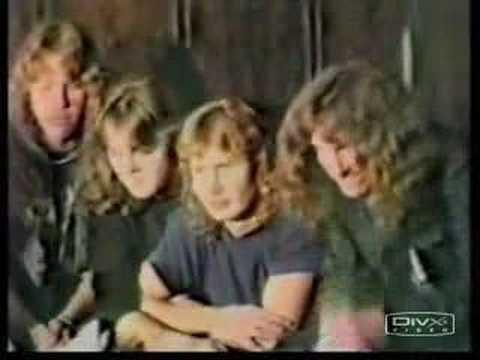 Metallica - A Verdadeira entrevista de 83