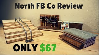 BEST CHEAPEST FINGERBOARD RAMPS OF ALL TIME!!! (North FB Co Review)