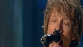 Bon Jovi - Everybody's Broken (HQ Lost Highway Concert) 2007