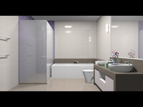 Sketchup Interior design ( Bathroom )