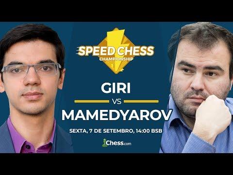 Xadrez: SCC 2018 (Anish Giri v Shakhriyar Mamedyarov) Chess.com
