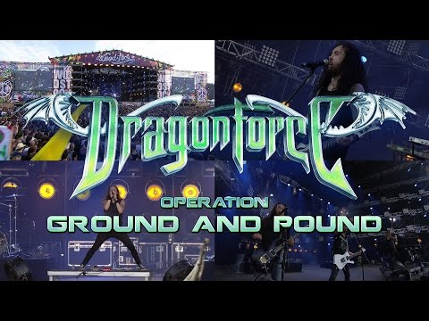 """DragonForce """"Operation Ground and Pound"""" (Live at Woodstock Festival)"""