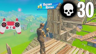 High Elimination Solo vs Squads Win Gameplay Full Game Season 7 (Fortnite Ps4 Controller)