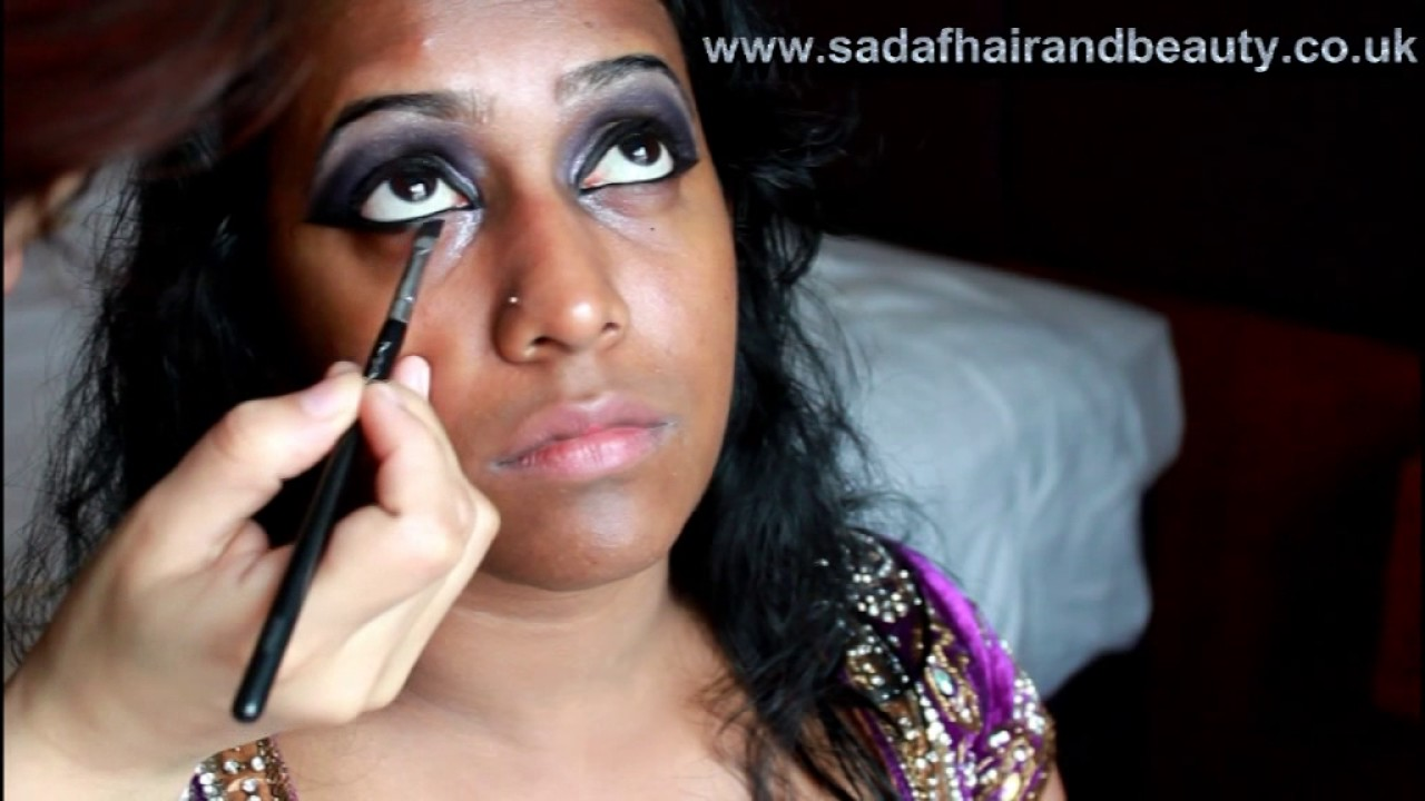 Srilankan Hindu Bridal Makeover Real Bride