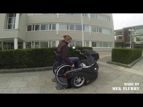 Huka Pendel - Rolstoel scooter - Wheelchair scooter