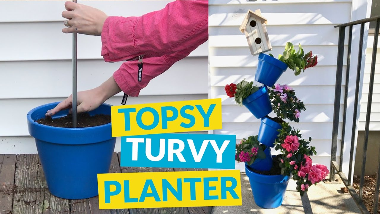 Well-known Topsy Turvy Planter - YouTube PB31