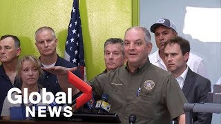 Louisiana governor discusses Barry aftermath