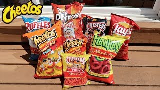 Download TASTING EXTREMELY SPICY CHIP FLAVORS! Mp3 and Videos